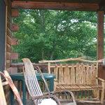 Bate Cabin Cowee Porch