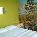 Canadian Rockies room-linens and towels provided