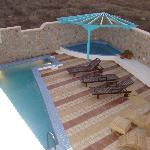 The pool an the nice whirlpool bath