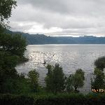 Lake Atitlan at Daybreak from Hotel Sakcari