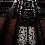 der schmiedeeiserne Lift