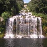 la cascata della reggia di caserta