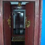 ...the door that warmly welcomes u.....
