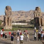 The amazing Colossi of Memnon