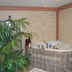 Bathroom in the Serenity Suite