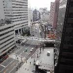 Aussicht vom Hotelzimmer (ca. 13. Stock)
