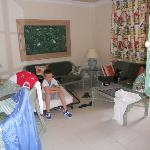 the main room of the apartment