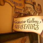 Grainstore Art Gallery signage