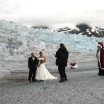 Our Glacier Wedding