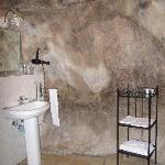 """""""Il Cigno"""". Il bagno nella roccia."""