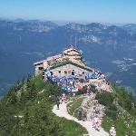 Overlook of Kehlsteinhaus