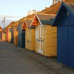 Beach Huts on the front