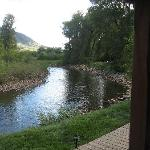 View from our Cabin/River View