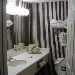 Clean Bathroom with lots of light