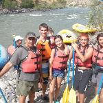 Our Family right before we went White Water Rafting