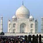 The beautiful Taj...the eternal monument of love