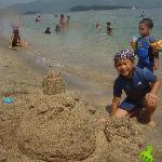 Our sand castle