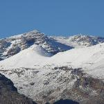 Snow on the Matroosberg in winter