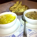 egg drop soup and hot and sour soup-the best