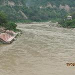 Ganges Rishikesh - Monsoon Time