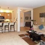 Main room of suite, very spacious!
