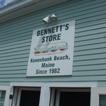 Bennett's is only minutes from the beach.
