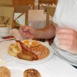 Hotel Breakfast. Lush !!!!