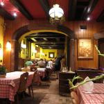 Hotel restaurant - very charming, ordinary food