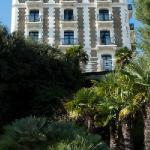 L'hôtel vu de la mer
