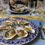 Austern gratiniert