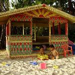 Nirvana beach hut