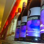 a fine selction of wine