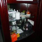 Coffee/tea service in room