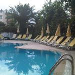 Pool in Pinar hotel.