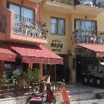 Rosy Apartments Entrance