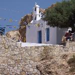 church at herssonisoss beach