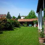 Chambre d'hôtes Muriska Vue sur le jardin