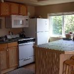 Six kitchen units - shown here #6, Sea Mist