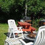 Patio, Gas BBQ, Fire Pit, Crab Cooker
