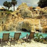 El área de una de las cuevas de las piscinas