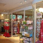 The gift shop at the Garden Hotel.