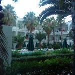 Der Innenhof des Hotels