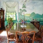 Our dining room where breakfast is served each morning