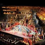 Opera Aida nell´arena di Verona