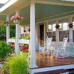 Relax on our Rocking Chair front Porch with Ocean breezes