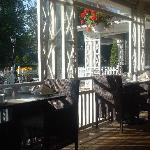 The Patio at Zee's Restaurant