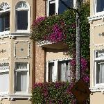 Häuserfronten wie gemalt
