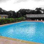 Hotel Le Servigny pool area