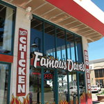 Famous Dave's - from the street