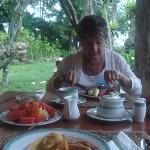 Good breakfast spread